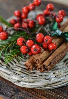 Decoration, Christmas, Cinnamon, Holiday, Celebration