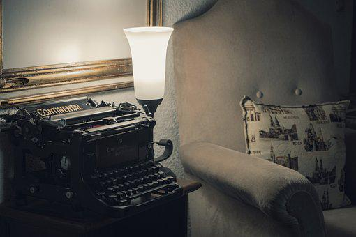 Typewriter, Technology, Leave, Letters, Communication