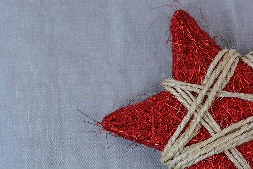 Christmas, Star, Decoration, Glitter, Celebrate