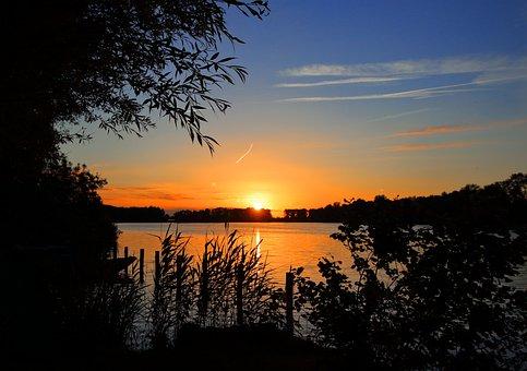 Nature, Sunset, Evening, Colorful Sunset, Evening Sky
