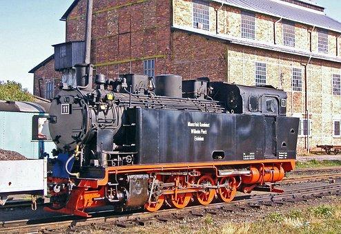 Steam Locomotive, Factory Railway, Monastery Mansfeld