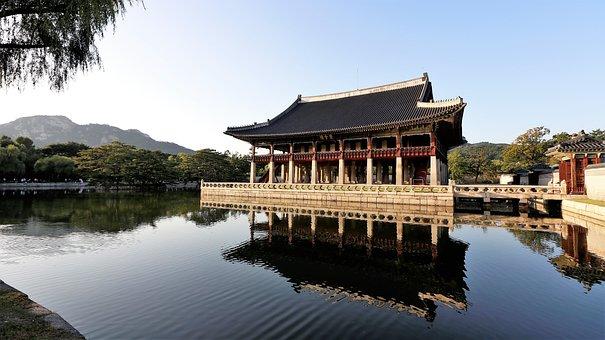 Gyeongbok Palace, Gyeonghoeru, Forbidden City