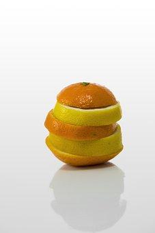 Fruit, Orange, Mandarin, Lemon, Fruits, Citrus Fruits