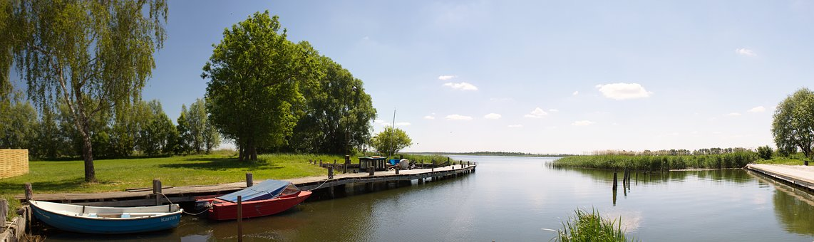 Germany, Island Of Usedom, Usedom, The Harbor