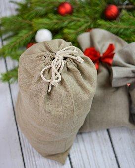 Gift, Bag, Present, Christmas, Holiday, Xmas