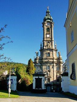Gothic Church, Abbey Church, Zwetli Abbey, Austria
