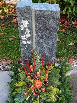 Church, Church Year, All Saints, Cemetery, Grave