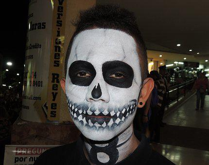 Face, Painting, Halloween Armenia, Parties, Colombia