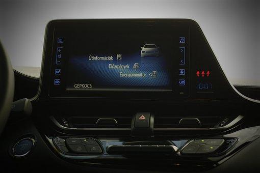 Toyota C-hr, Hybrid, Car Interior