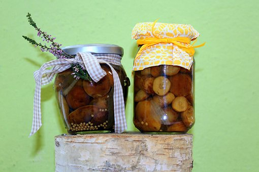 Stocks For The Winter, Preparations, Jars
