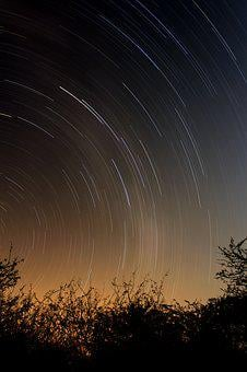 Light Trail, South Africa, Landscape, Night Time