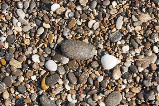 Stone, Kennedy, Gravel, Macro, Beach, Nature, Rocky