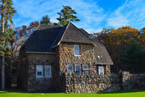 House, Stone, Home, Old, Architecture, Building