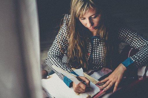 Write, To Write, Writer, Pen, Paper, Book, Creativity
