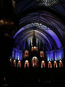 Church, Stained Glass Windows, Pilgrimage, Religion