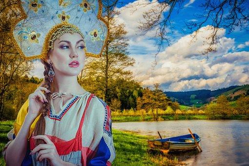 Russkaya Krasavica, Russia, Girl, View, Beauty, Russian