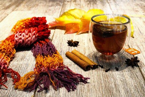 Tee, Autumn, Christmas, Cinnamon, Spices