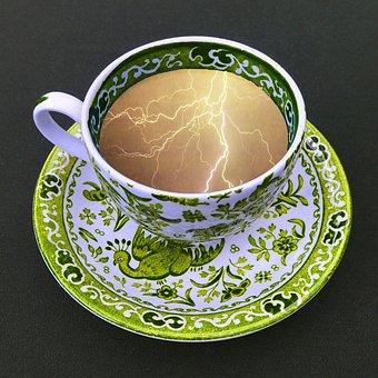 Storm, Tea, Cup