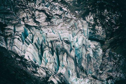 Fox, Glacier, New Zealand, Texture, Nature, Landscape