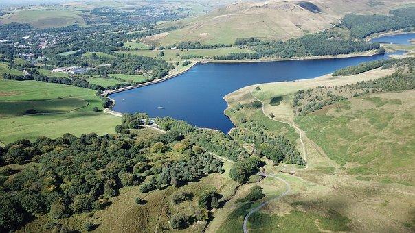 Dovestone Reservoir, Uk, Tourism, England, Dovestone