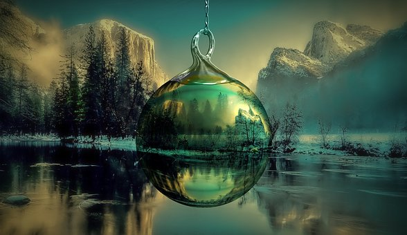 Christmas, Christmas Ornament, Yosemite Park