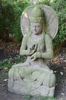 Asia, Deity, Statue, Figure, Sculpture, Religion, Art
