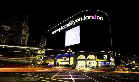 London, Picadilly, City, England, United Kingdom
