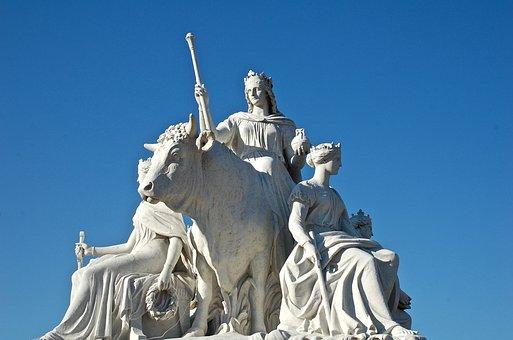 Statue, London, England, Britain, Europe, Uk, Landmark
