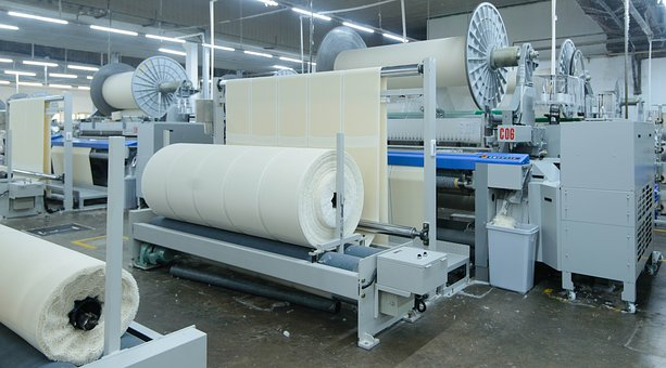 Machine-woven Fabric, Machinery, Factory, Woven, Fabric