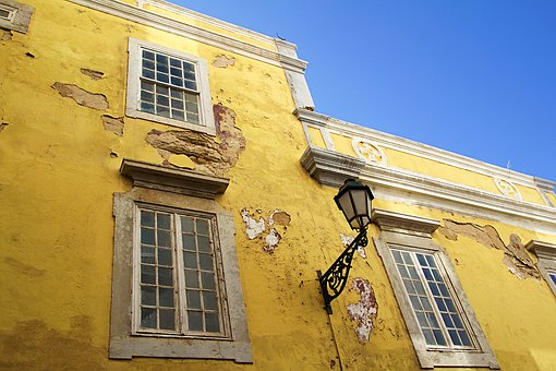 Faro, Portugal, Algarve, Architecture, Tile, Tiles