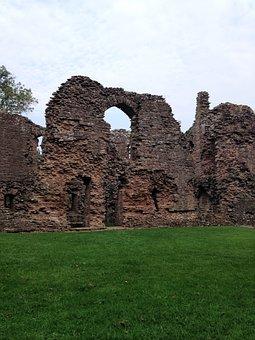 Ruins, Wales, Uk, United, Kingdom, Tower, Castle