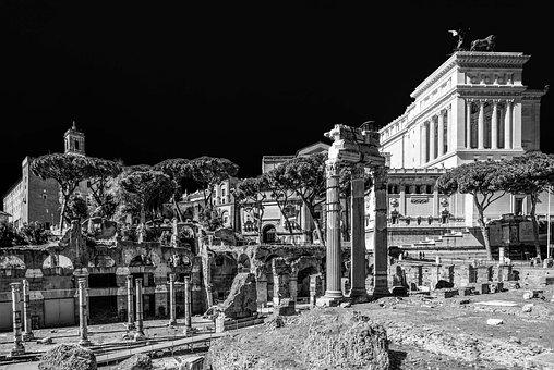 Rome, Lazio, Italy, Altare Della Patria, Victorian