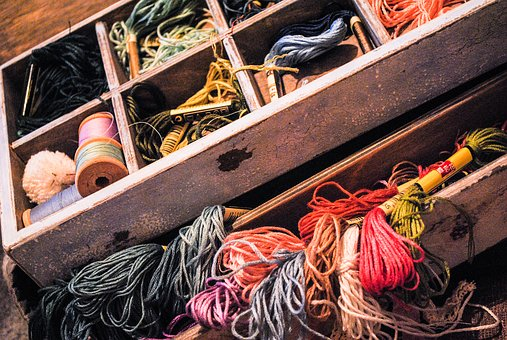 Embroidery, Floss, Needlework, Passion, Leisure, Thread