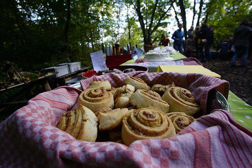 Pastries, Close, Sweet, Food, Eat, Small Cakes