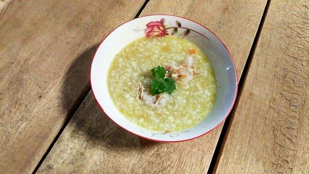 Porridge, Acehnese, Aceh, Traditional, Dish, Kanji