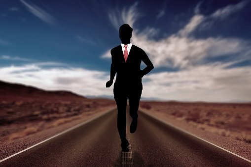 Businessman, Stress, Hustle And Bustle, Man, Race