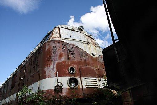 Loco, Locomotive, Old, Stainless, Historically, Railway