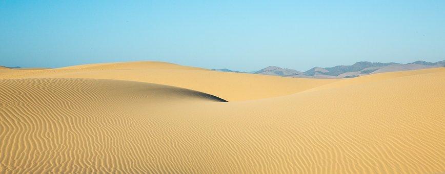 Desert, Dune, Sand, Nature, Landscape, Dry
