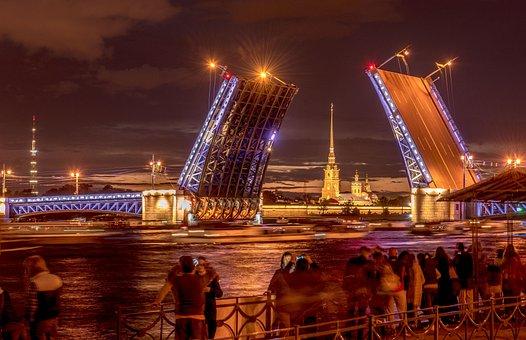 Bridge, Peter And Paul Fortress, St Petersburg