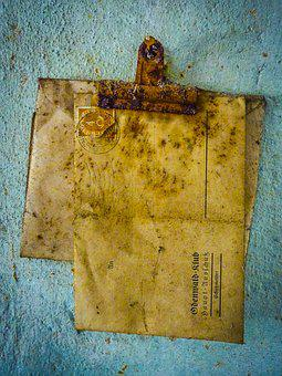 Lost Place, Letters, Hdr, Stamp, Stainless