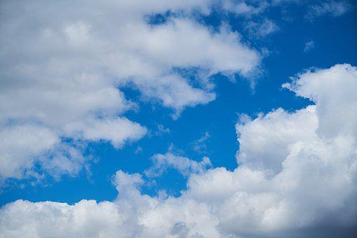 Cloud, Blue, Summer, Clouds, White, Landscape, Nature