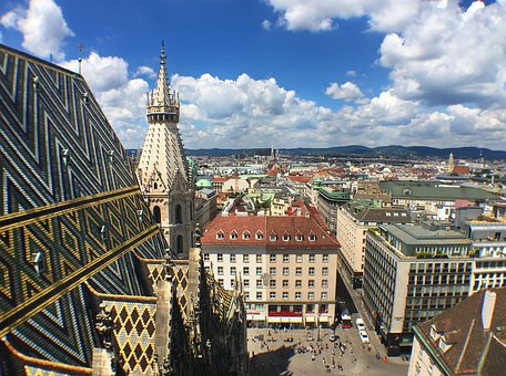 Vienna, Austria, Architecture, Tourism, Cityscape