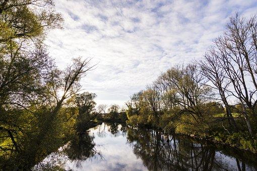 Nature, Autumn, River, Landscape, Forest