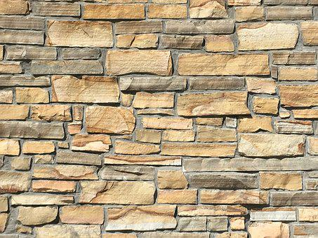 Stone Texture, Backdrop, Wall, Gray, Brown