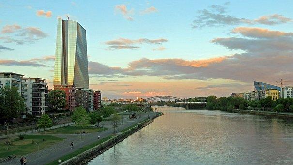 Ecb, Frankfurt, European Central Bank, Skyscraper, Bank