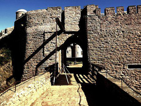 Castle, Fort, Architecture, Fortification, Medieval