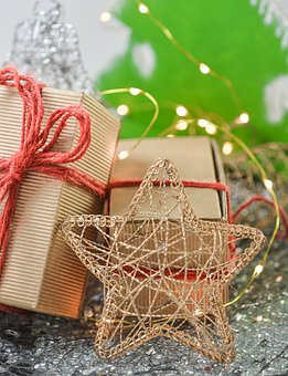 Christmas, Gifts, Star, Decoration, Holiday, Xmas