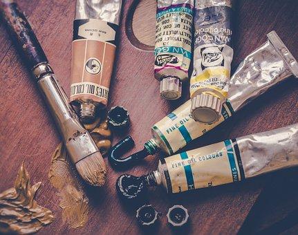 Paint, Brush, Painting, Hobby, Creative, Colors, Artist