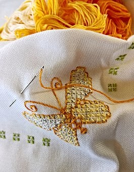 Hand Labor, Embroidery, Cross Stitch Embroidery