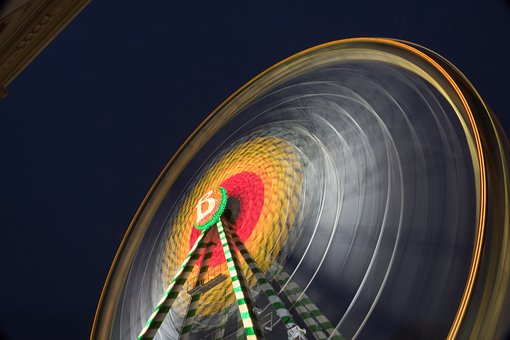 Ferris Wheel, Hustle And Bustle, Folk Festival